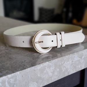 Belt with Gold trim buckle